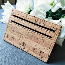 Load image into Gallery viewer, Natural Cork Coin Pouch & Card Holder