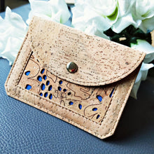 Load image into Gallery viewer, Natural Cork Coin Pouch & Card Holder - TroveofGaia