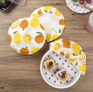 Cotton Bowl & Plate Covers Set (3 sizes)