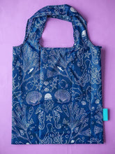 Load image into Gallery viewer, Seastainable Recycled RPET Shopping Tote Bag