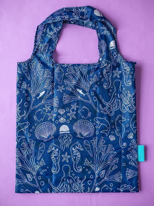 Seastainable Recycled RPET Shopping Tote Bag