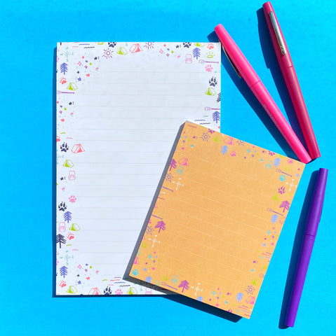 Gifts for outdoor lovers from Compass Paper Co