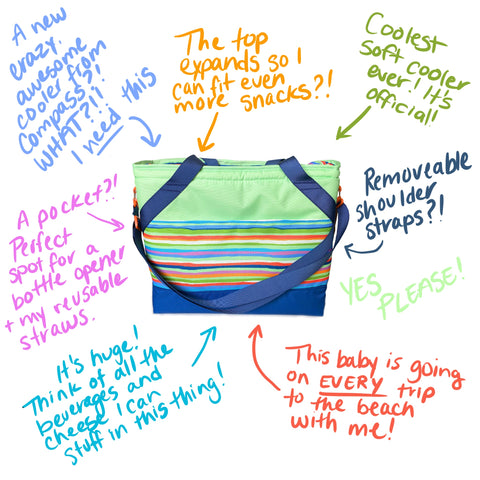 Gifts for Outdoor Lovers - Coolers from Compass Paper Co