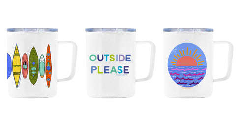 Camp Mugs from Compass Paper Co