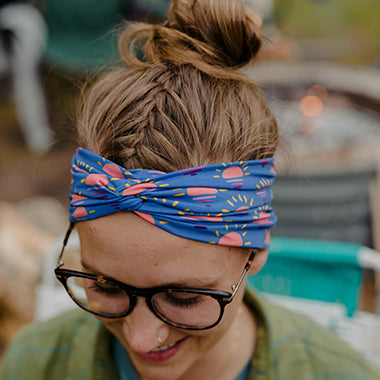 Leelanau Sunset Headband