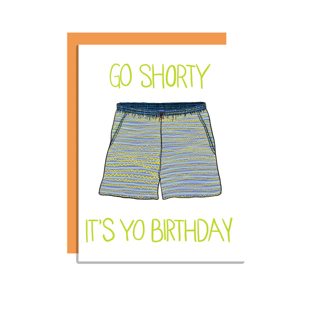 Go Shorty Card