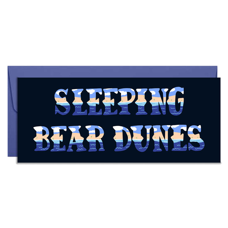 Sleeping Bear Dunes Card