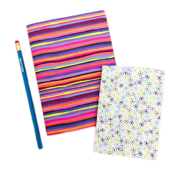 Summer Stripes Trail Notebook
