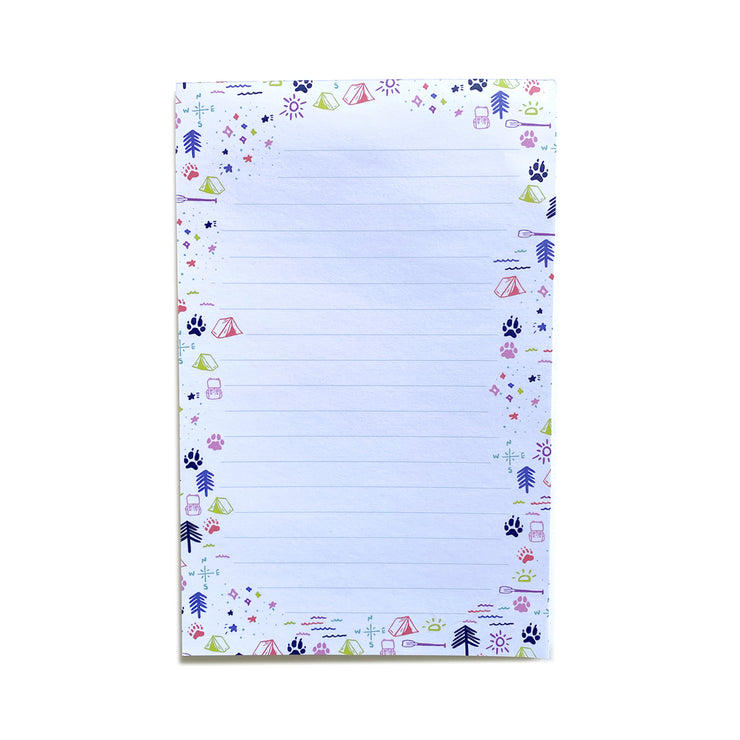 Large Up North Notepad