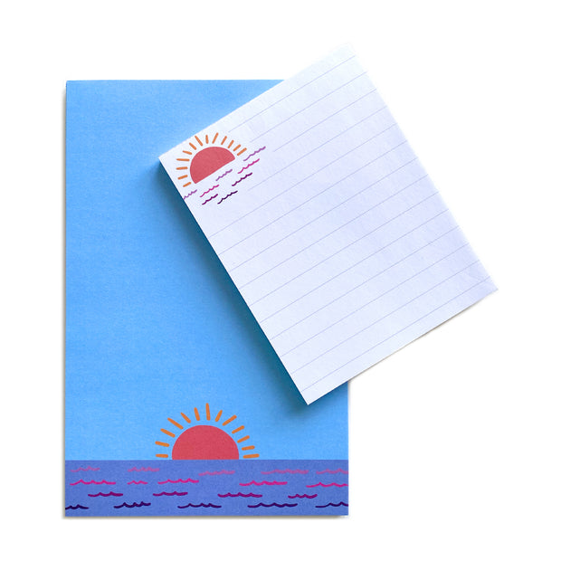Large Sunset Notepad