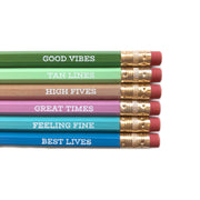 Summertime Pencil Set