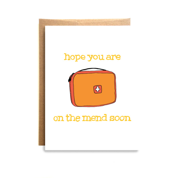 On The Mend Card