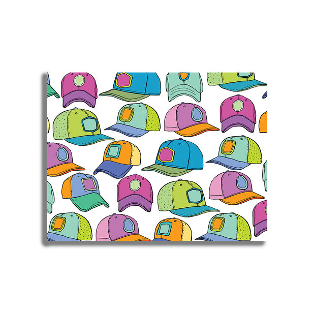 Favorite Hats Postcard