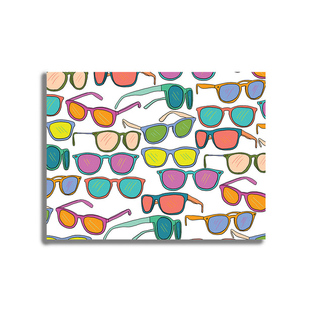 Sunglasses Postcard