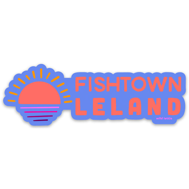 Fishtown Sunset Sticker