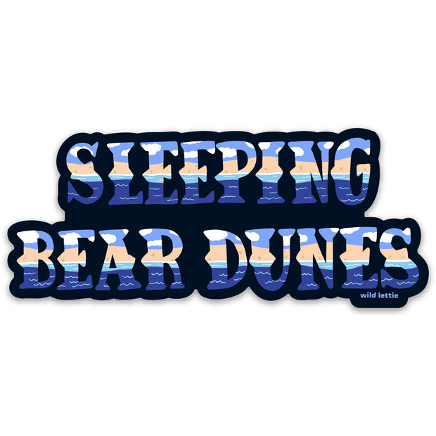 Sleeping Bear Sticker