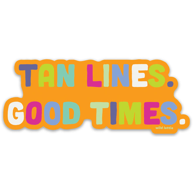 Tan Lines Sticker
