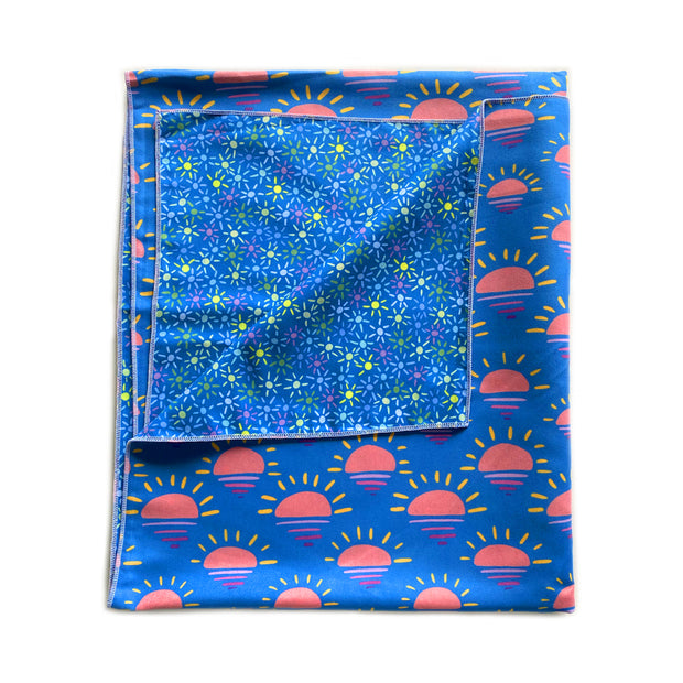 Leelanau Sunset Camp Towel