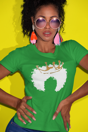 To The Queen Goes The Crown Tee