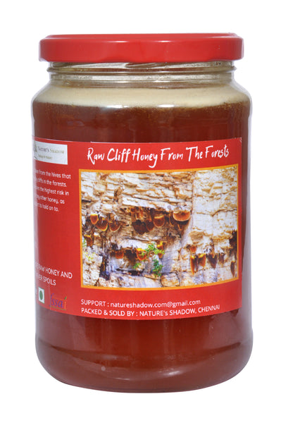 1000 Grams - Raw Cliff Honey