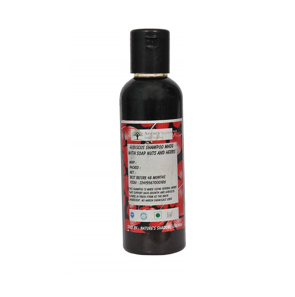 Nature's Shadow - Single Hibiscus Shampoo - 100ml