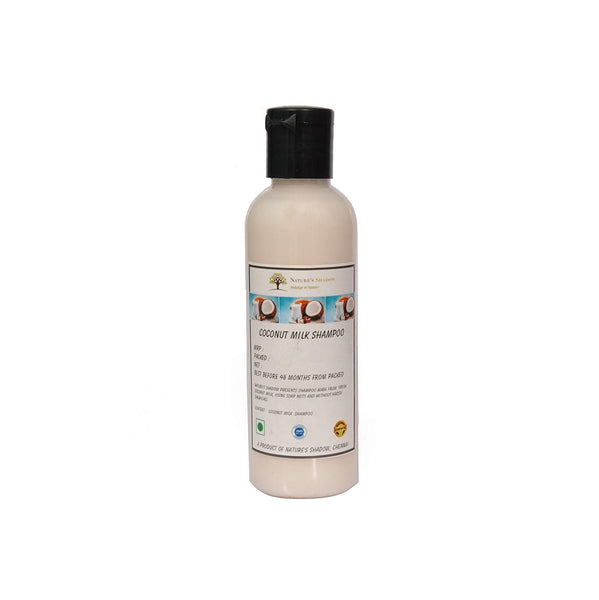 Nature's Shadow - Shampoos Made With Soap Nuts and Herbs (Coconut Milk Shampoo, 100 ML)