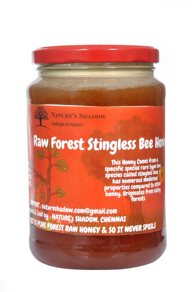 500 Grams - Raw Stingless Bee Forest Honey - Thalavadi Origin