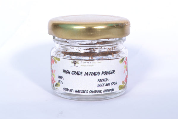 Nature's Shadow - Pure High Grade Javvadu Powder (5 Grams)