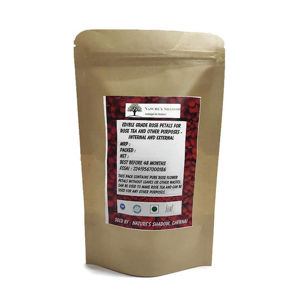 Nature's Shadow - Varieties of High Grade Original Herbal Teas (Rose Petals Tea, 50 Grams)