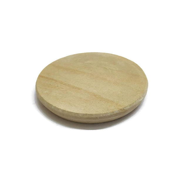 Nature's Shadow - Sandalwood Paste Making Specialized Stone Grinder (8 Inches In Diameter - Sandal Stone Grinder Only)