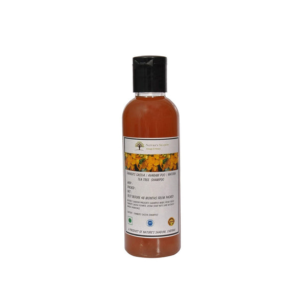Nature's Shadow - Shampoos Made With Soap Nuts and Herbs (Tanner's Cassia / Avaram Poo Shampoo, 100 ML)