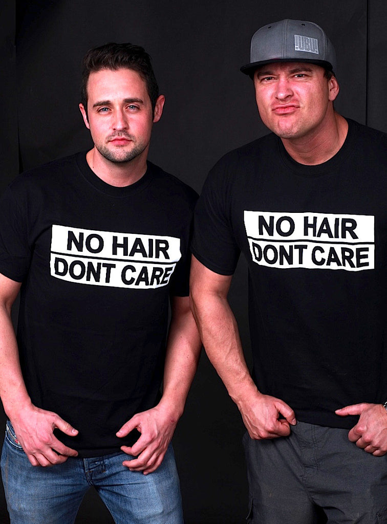 No Hair Dont Care Mens T-Shirt
