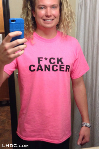 Mens F*** Cancer Tee