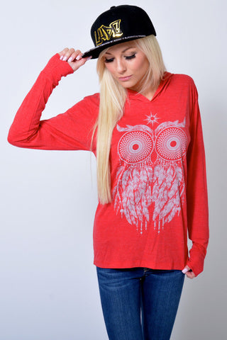 Guy/Girl Dream Owl Hoodie