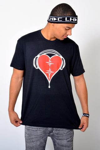 Heart Beat Mens Crew