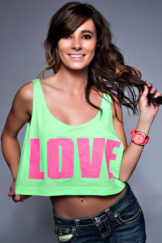 Love Crop-top