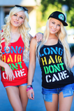 Multi Color Billboard Tank Top Womens