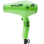 Parlux 3800 Eco Friendly Ionic and Ceramic Hair Dryer -Green