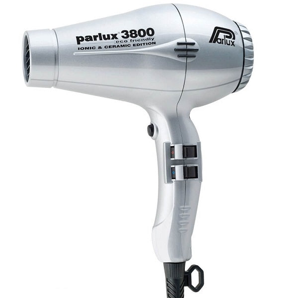 Parlux 3800 Ceramic & Ionic Dryer 2100W - Silver