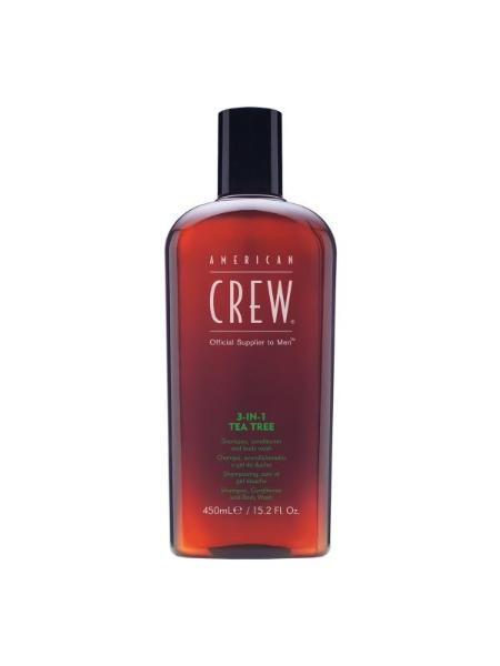American Crew Tea Tree 3 In 1 450ml