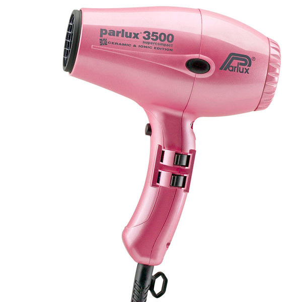 Parlux 3500 Ceramic & Ionic Dryer 2000W - Pink