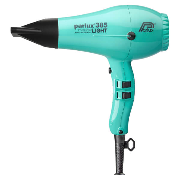Parlux 385 Powerlight Ceramic & Ionic Dryer 2150W - Aquamarine
