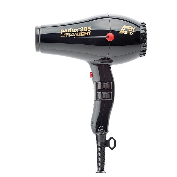 Parlux 385 Powerlight Ceramic & Ionic Dryer 2150W - Black