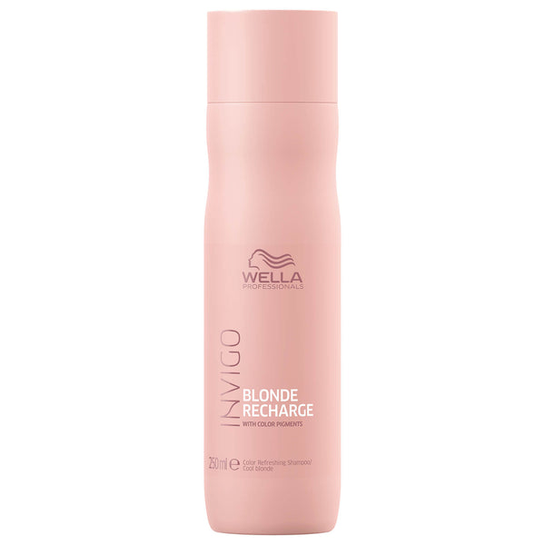 Wella Invigo Blonde Recharge Cool Blonde Color Refreshing Shampoo 250ml