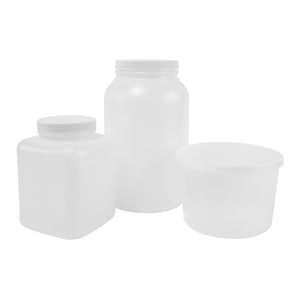 Half Gallon and Gallon Containers