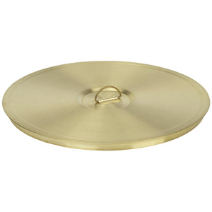 "U.S. Testing Sieves 12"" Half Height Brass Frame"