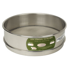 "Load image into Gallery viewer, U.S. Testing Sieves 8"" Full Height Stainless Steel Frame"