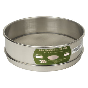 "U.S. Testing Sieves 8"" Full Height Stainless Steel Frame"