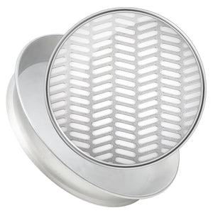 Special Perforation Sieves - Oblong, Herringbone and Slotted - Steel
