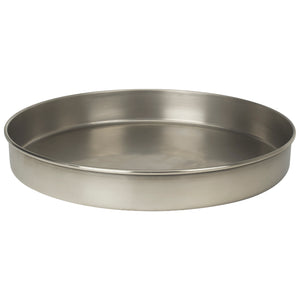 "U.S. Testing Sieves 12"" Half Height Stainless Steel Frame"